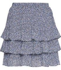 tiered mcr lilli skrt kort kjol blå michael kors