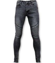 skinny jeans true rise basic biker jeans - u141-5-