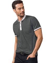 masculino exterior camiseta gris leonisa m2667s
