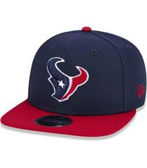 boné 9fifty new era original fit nfl houston texans aba reta