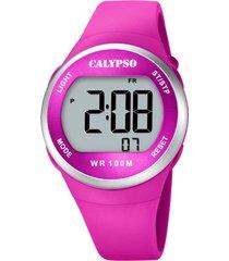 reloj color run rosa calypso