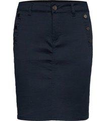 frlomax 3 skirt kort kjol blå fransa
