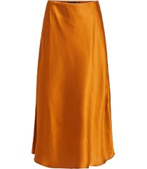 middellange rok glanzende