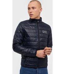 ea7 emporio armani train core id m down light jacket jackor night blue