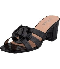 sandalia ayaka negro weide