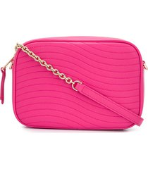furla swing quilted crossbody bag - pink