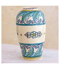 ceramic vase, 'bermuda' (medium) (guatemala)