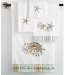"avanti ""by the sea"" fingertip towel, 11x18"" bedding"