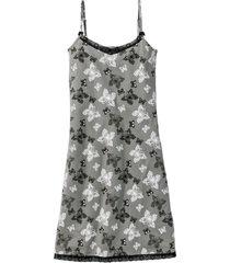 camicia da notte con spalline sottili (grigio) - bpc bonprix collection