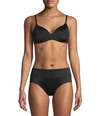 dkny women's litewear wirefree t-shirt bra - black - size 34 c