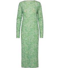 paradise dagmar jurk knielengte groen mads nørgaard