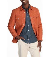 men's alton lane ryback water resistant jacket, size xx-large r - orange