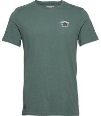 léonce tee t-shirts short-sleeved grön morris