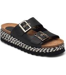 sonja sandaletter expadrilles låga vit sweeks