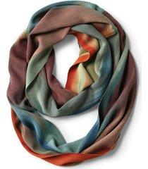 handwoven bamboo infinity scarf