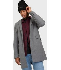 only & sons onsjulian solid wool coat otw noos jackor grå