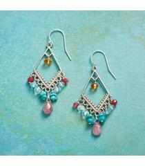 sundance catalog women's bohemian beauty earrings