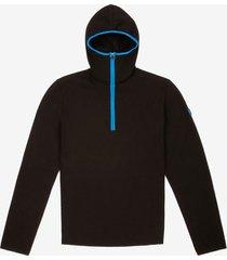thermo padded hoodie black 54