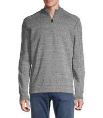 sidney half-zip knit sweater
