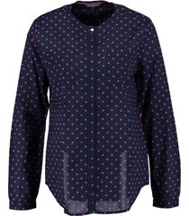 tommy hilfiger donkerblauwe blouse