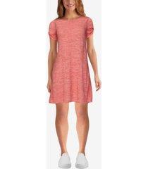 ruby rd. misses space dye stripe dress