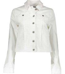 geisha jacket white denim