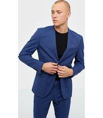 selected homme slhslim-mylologan insig. blue blz b kavajer & kostymer mörk blå