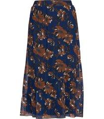 skirt-jersey knälång kjol multi/mönstrad brandtex
