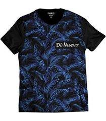 camiseta di nuevo verão tropical masculina