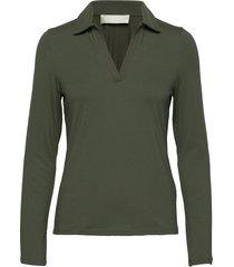 tearz blouse lange mouwen groen fall winter spring summer