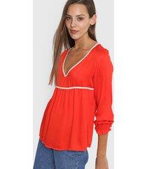 blusa roja nano praga