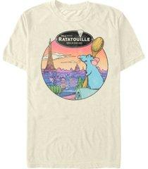 men's ratatouille le rat parisian short sleeve t-shirt
