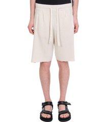 laneus shorts in white cotton