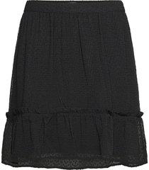ayella skirt kort kjol svart moss copenhagen