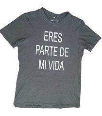 camiseta para hombre verde