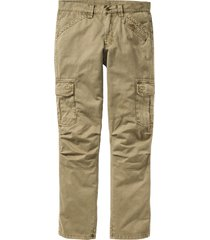 pantaloni cargo loose fit straight (verde) - rainbow