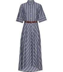 grade dress jurk knielengte blauw hope