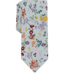 bar iii men's morton floral slim tie, created for macy's