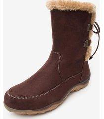bota lucera brown chancleta