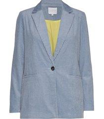 suit jacket in corduroy blazer blauw coster copenhagen