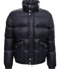 alexander mcqueen black down jacket with back logo