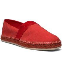 lular espadrille sandaletter expadrilles låga röd gant
