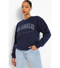 los angeles sweater, navy