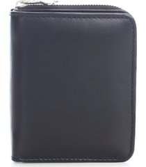 ami alexandre mattiussi compact wallet smooth leather