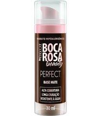 base líquida matte hd 30ml 9 aline - boca rosa beauty by payot único