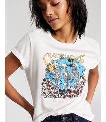 junk food women's cotton grateful dead-graphic t-shirt
