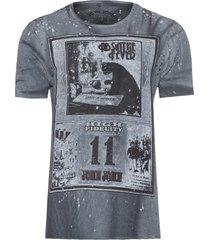t-shirt masculina absinthe - cinza