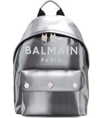 balmain mochila b-back - prateado