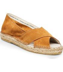 ginger sandaletter expadrilles låga brun pavement