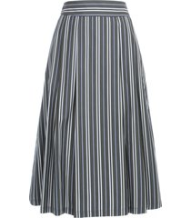 aspesi striped knitted skirt